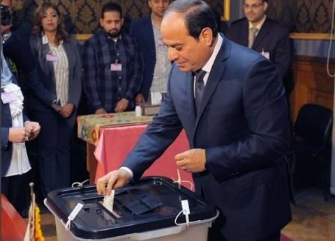 نشرة انتخابات الرئاسة| السيسي يدلي بصوته..وانتظام سير عملية الانتخابات