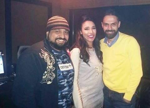 أمينة تتعاون مع أمير طعيمة وتوما في أغنية جديدة