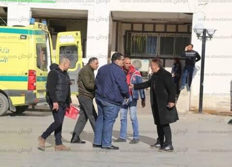التصديق على قرار تعيين أحمد عبدالفتاح مديرا لمستشفى العريش العام