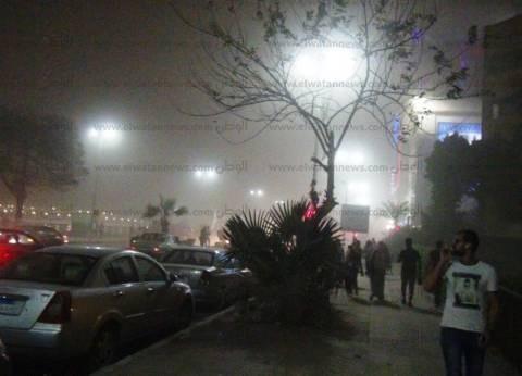 العاصفة الترابية تصل المنوفية وتتسبب في سقوط أشجار وانقطاع الكهرباء
