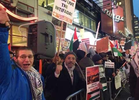 من نيويورك لبرلين وباريس.. حتى الأجانب هتفوا ضد ترامب من أجل القدس