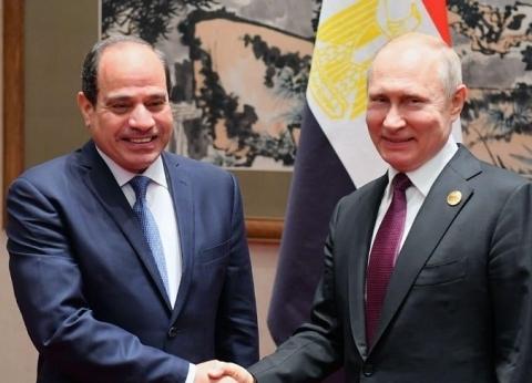 بوتين يهنئ السيسي بنجاح الاستفتاء على التعديلات الدستورية