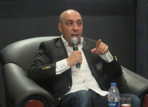 الروائي عصام يوسف في ضيافة جامعة حلوان
