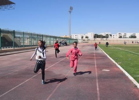 صور| فعاليات المشروع القومي لانتقاء الموهوبين رياضيا بمدينة طور سيناء