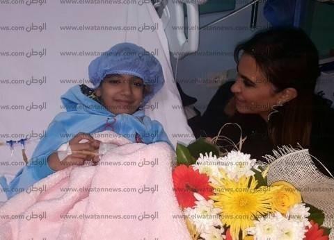 وزيرة التعاون تزور مصابي تفجير البطرسية.. وتعزي أسرة الطفلة ماجي مؤمن
