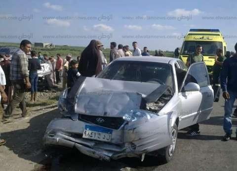 إصابة 4 أشخاص في حادث على طريق البحر الأحمر