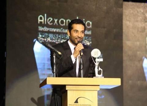 """عمرو سعد يواصل تصوير """"كارما"""" في التجمع الخامس"""