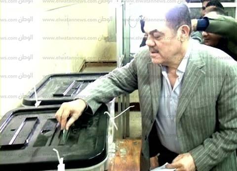 بالصور| السيد البدوي يدلي بصوته في لجنته الانتخابية بطنطا