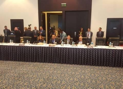 رانيا المشاط تكرم أمين عام منظمة السياحة العالمية ومحافظ جنوب سيناء