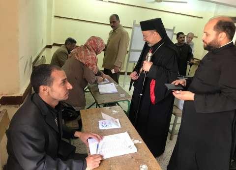 """بطريرك الأقباط الكاثوليك يدلي بصوته في """"التعديلات الدستورية"""""""