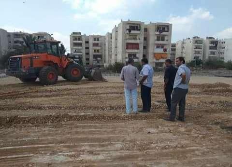 إزالة التعديات على مساحة 1750 مترا بمساكن زناري في دمياط
