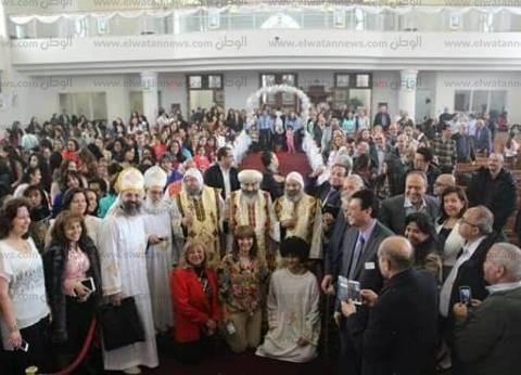 """احتفالية كنيسة الملاك والقديس تكلا هيمانوت بكندا بـ""""يوبيلها الفضي"""""""