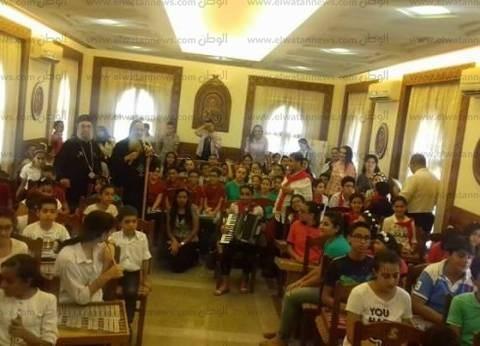 الكنيسة الأرثوذكسية تحتفل بختام نشاط مدرسة الموهوبين في طنطا