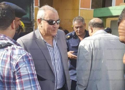 مدير أمن الجيزة يتفقد لجان كرداسة للاطمئنان على سير عملية التصويت