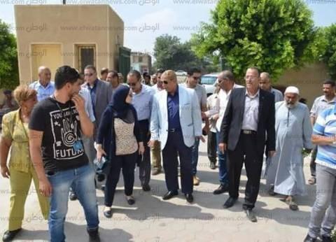 """محافظ الإسماعيلية يشهد انطلاق قافلة طبية للكشف عن فيروس سي بـ""""المنايف"""""""