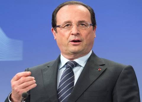 """الرئيس الفرنسي: محاربة """"داعش"""" في العراق تحمي بلادنا من الإرهاب"""