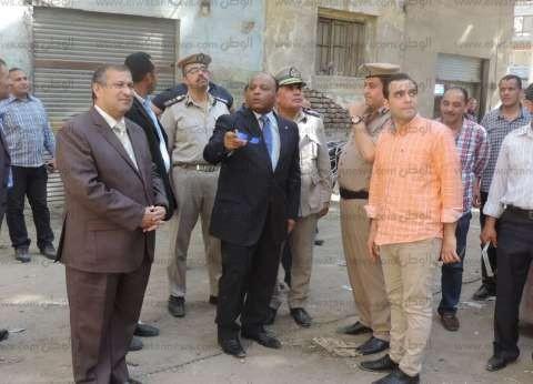 بالصور| مدير أمن الغربية يتفقد خدمات تأمين قسم ثان طنطا وأعمال الصيانة