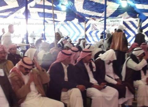 """مشايخ قبائل سيناء: """"نحن معك وخلفك يا سيسي من أجل مصر"""""""