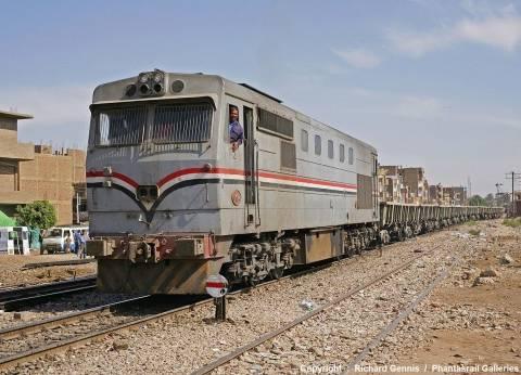 """توقف حركة القطارات على خط """"القاهرة-الإسكندرية"""" بسبب عطل ببركة السبع"""