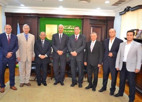 جامعة الإسكندرية تحتل مراكز متقدمة في موضوعات بحثية متخصصة