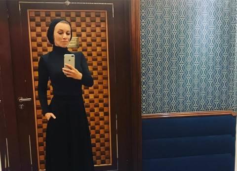 متحدثة الخارجية الروسية ترتدى الحجاب فى السعودية