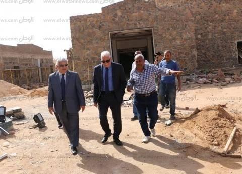 بالصور| محافظ جنوب سيناء: 10 ملايين جنيه لتطوير قصر الثقافة بشرم الشيخ