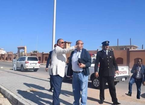 محافظ البحر الأحمر يوجه برفع كفاءة المنطقة الواقعة خلف فرق الأمن