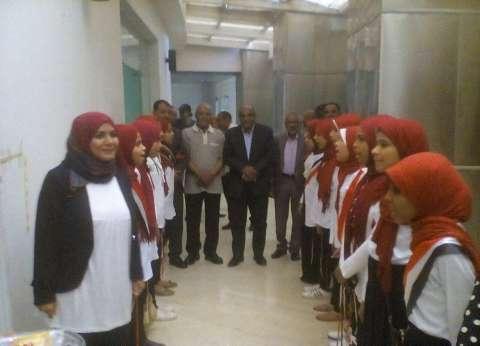 """وكيل """"تعليم الأقصر"""" يشهد ختام الأنشطة التربوية بمكتبة مصر العامة"""