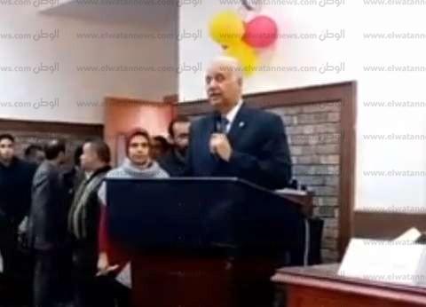 """إطلاق اسم طه حسين على مركز المكفوفين بـ""""آداب الإسكندرية"""""""