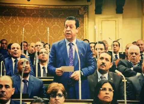 برلماني يناشد الشعب مساندة الشرطة في مواجهة الإرهاب