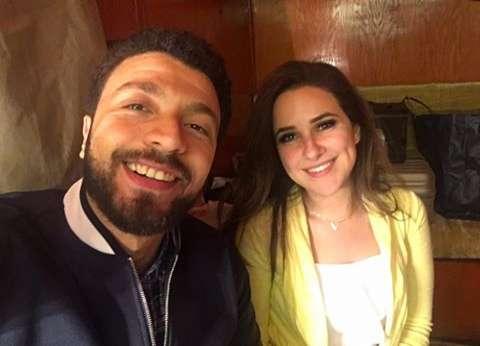 """أحمد خالد موسي لـ""""شيري عادل"""":""""كل سنة وانت طيبة وشاطرة ولذيذة"""""""