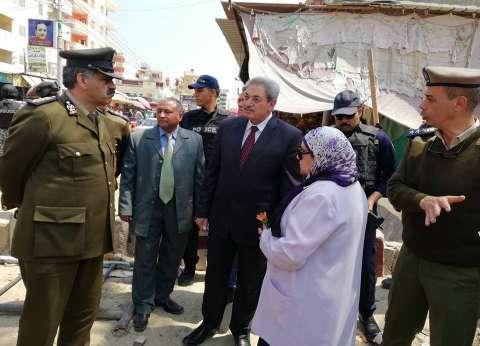 مدير أمن الدقهلية يتفقد مصيف جمصة في شم النسيم