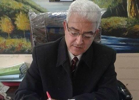 مدير إدارة شرق كفر الشيخ التعليمية يتفقد 5 مدارس