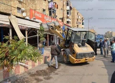 السكرتير العام لمحافظة الإسماعيلية وقيادات الأمن يتابعون تنفيذ حملة الانضباط