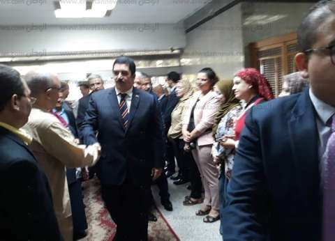 أول يوم عمل لمحافظ القليوبية: استقبال وزير الأوقاف وصلاة جمعة في بنها
