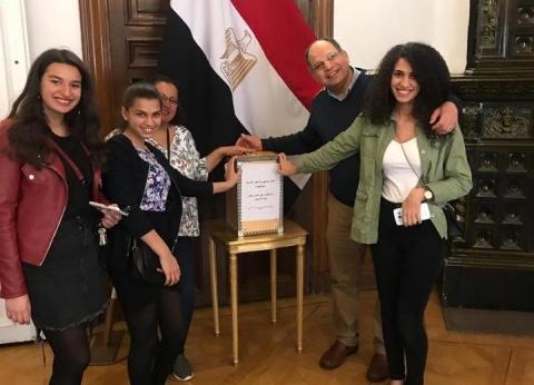 سفيرة مصر بقبرص: المشاركة في الاستفتاء اليوم ستكون أكبر