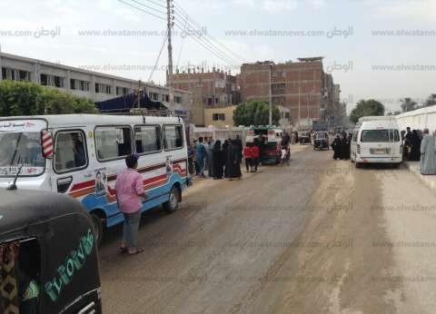 """مجلس مدينة """"المطرية"""" يحث المواطنين على التصويت في الانتخابات بمكبرات صوت"""