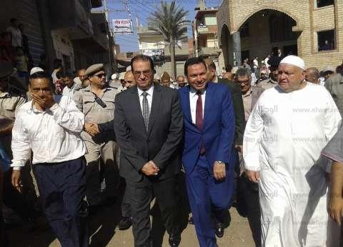 بالصور| تشييع جنازة رئيس جامعة المنوفية الأسبق