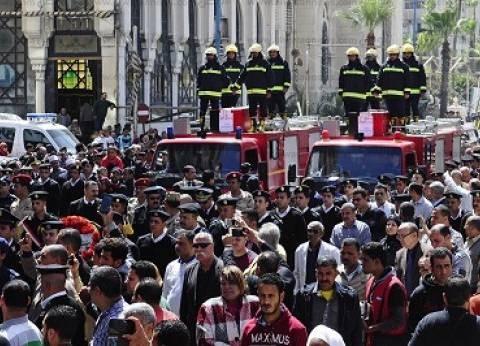 «أمن الدولة» تتحفظ على كاميرات موقع انفجار الإسكندرية
