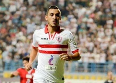 الزمالك يُحرز أول أهدافه في شباك أغادير بقدم إبراهيم حسن