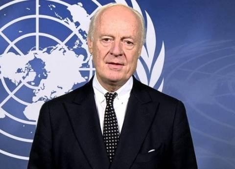 دي ميستورا: لمسنا نتائج إيجابية في الهدنة النسبية في الغوطة الشرقية