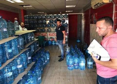 ضبط مخزن يحتوي على 8 أطنان مياه شرب غير مرخصة في شرم الشيخ