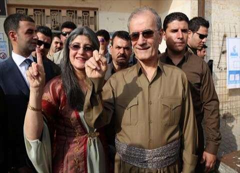بالصور| قيادات كردستان يصوتون في الاستفتاء على انفصال الأكراد