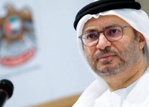 وزير إماراتي: حل الأزمة القطرية بوابته الرياض وبجهود مصرية وخليجية