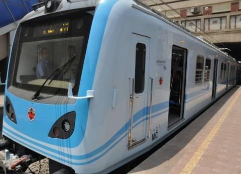 """""""المترو"""": عودة حركة تشغيل القطارات بالخط الأول بكامل طاقتها"""