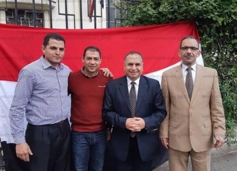 """""""إنزل وشارك ومواصلاتك علينا"""".. حملة للجالية المصرية برومانيا للاستفتاء"""