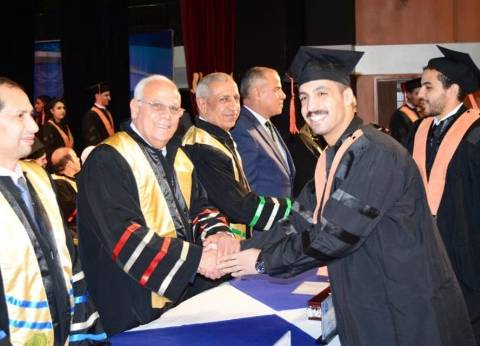 الأكاديمية العربية للعلوم ببورسعيد تحتفل بتخريج دفعة جديدة