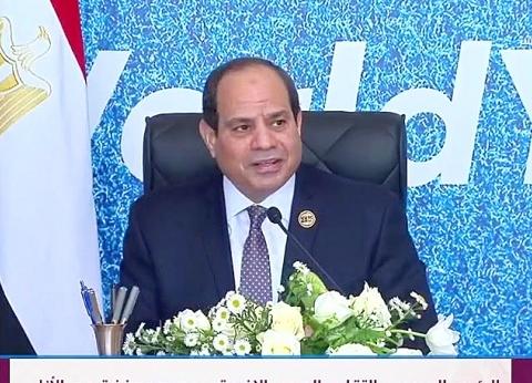 عاجل| السيسي: خطوات تأهيل الشباب في مصر بدأت بالبرنامج الرئاسي للتدريب