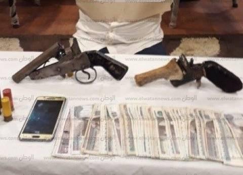 """""""أمن الإسكندرية"""" يضبط 21 سلاحا ناريا دون ترخيص خلال حملة أمنية"""