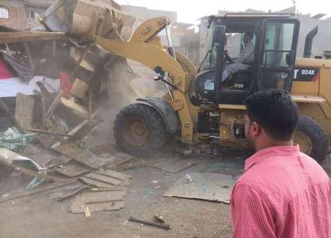 إزالة 29 حالة تعد على أملاك الدولة خلال حملة في القاهرة